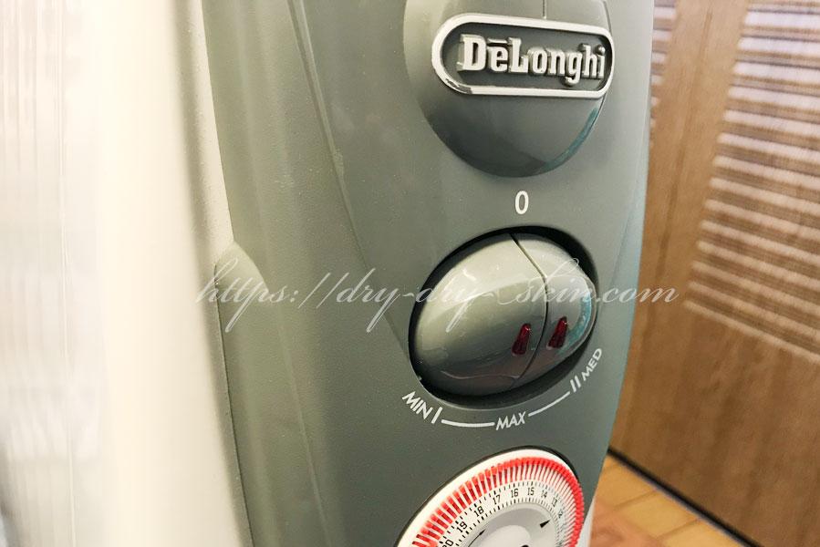 【ヒーター】部屋全体が暖まるデロンギのオイルヒーター