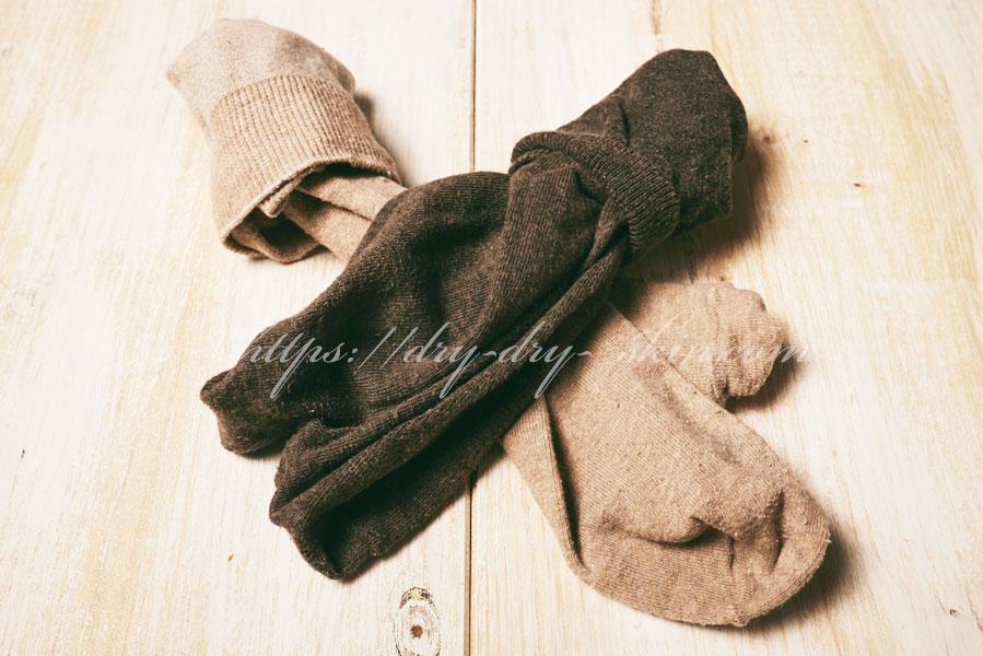 【靴下】かかとガサガサに対応した靴下
