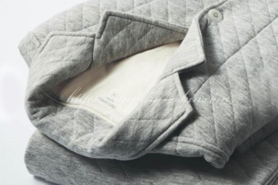 【パジャマ】綿100%ニットキルトのパジャマならチクチクしない